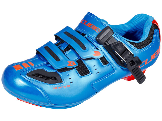 Cube Road Pro Schuhe Unisex blue'n'flashred